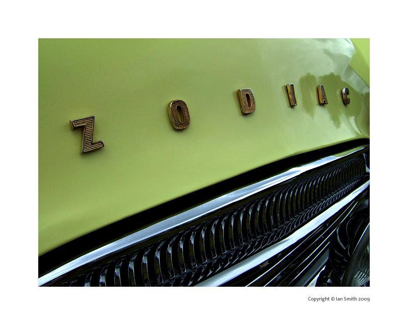 Yellow Ford Zodiac