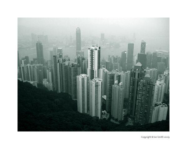 Peak View of Hong Kong