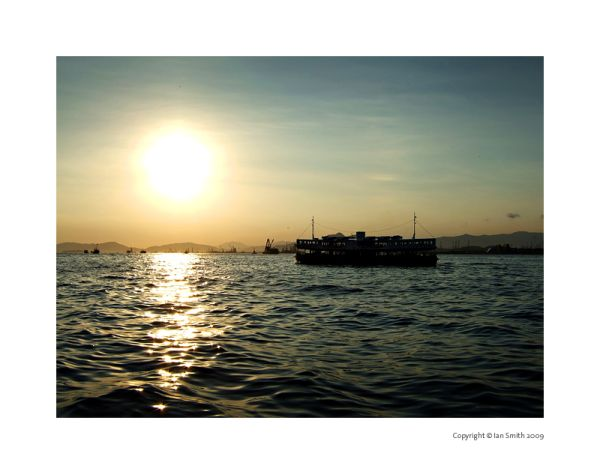 Star Ferry Sunset