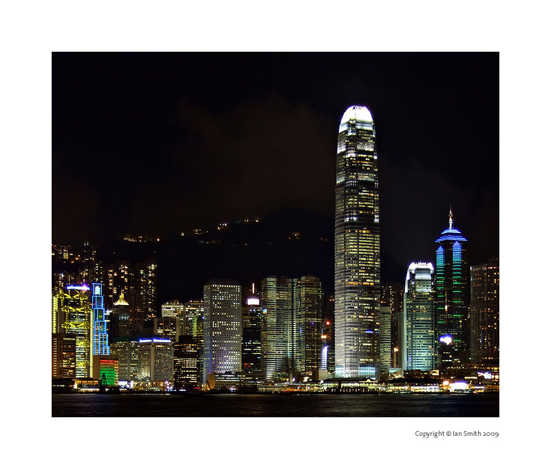 Admiralty and Central Hong Kong at Night