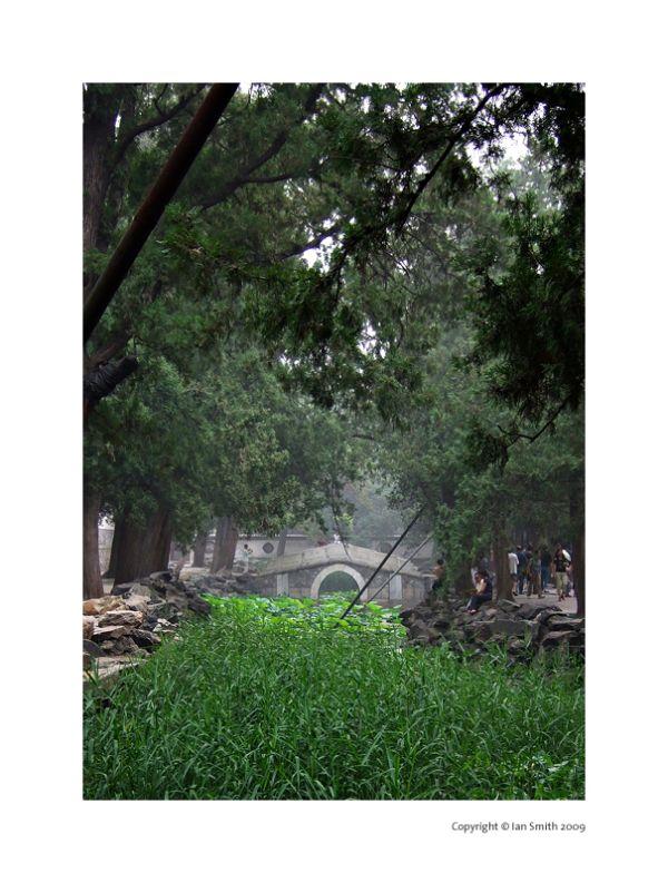Stone bridge summer palace Beijing