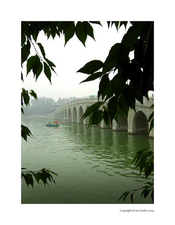 seventeen arch bridge, beijing