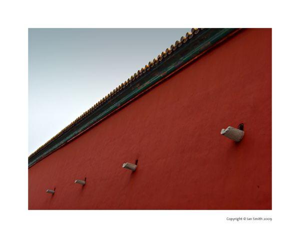 wall of the forbidden city, Beijing