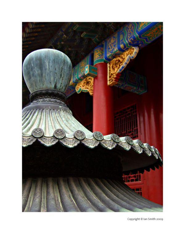 incense burner detail, the forbidden city, beijing