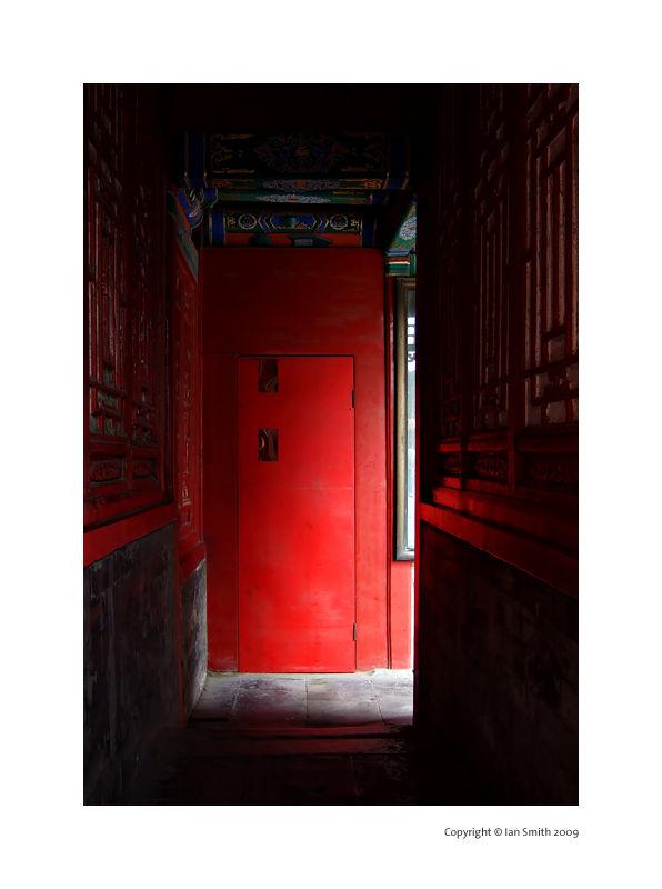 red door, The Forbidden City, Beijing
