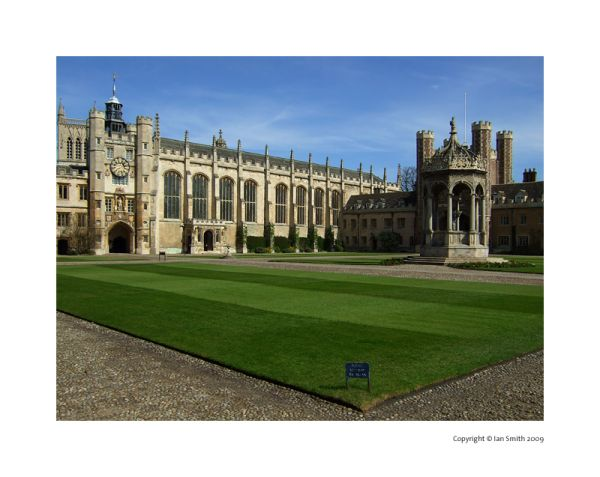 Trinity college, Cambridge photography
