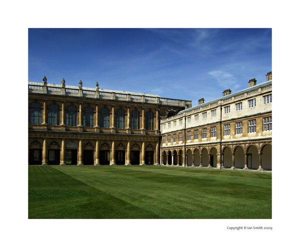 Nevile's Court, Trinity College, Cambridge Univers