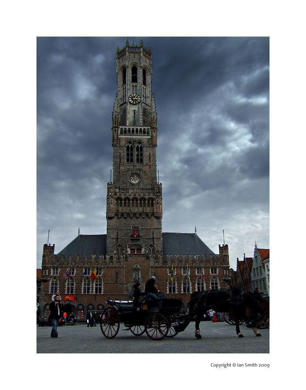 The Belfry, Bruges Market Square