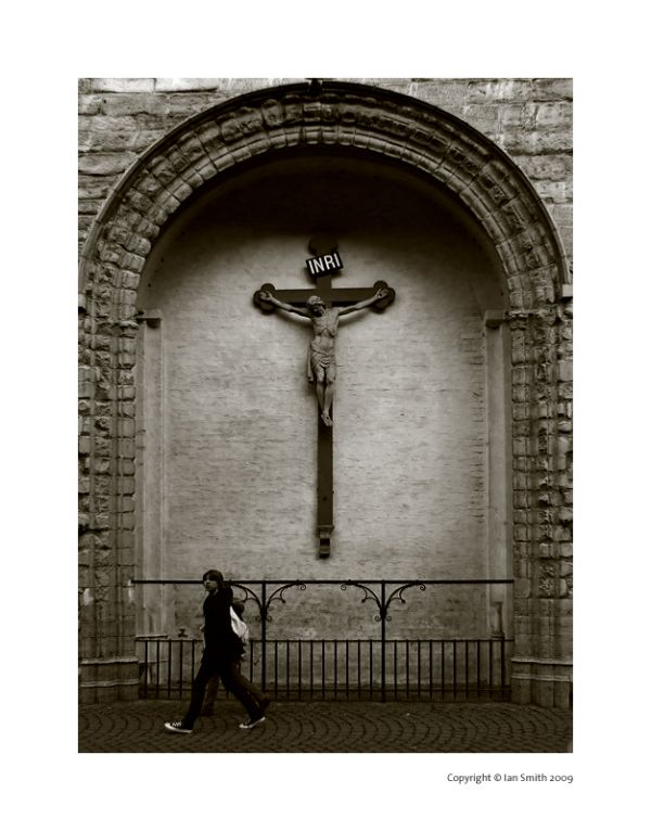 Crucifix, Bruges