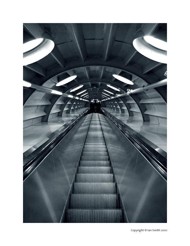 Atomium tube, Brussels, Belgium