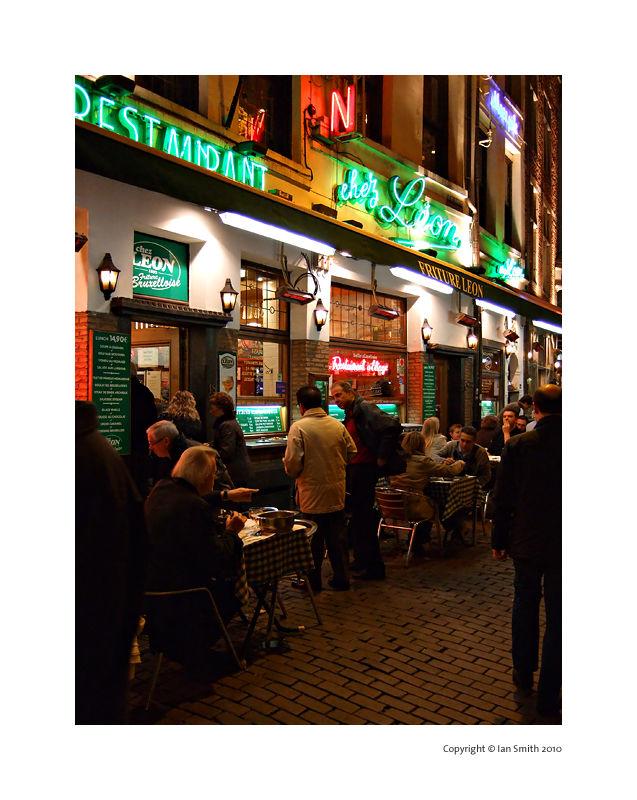 Chez Leon, Brussels