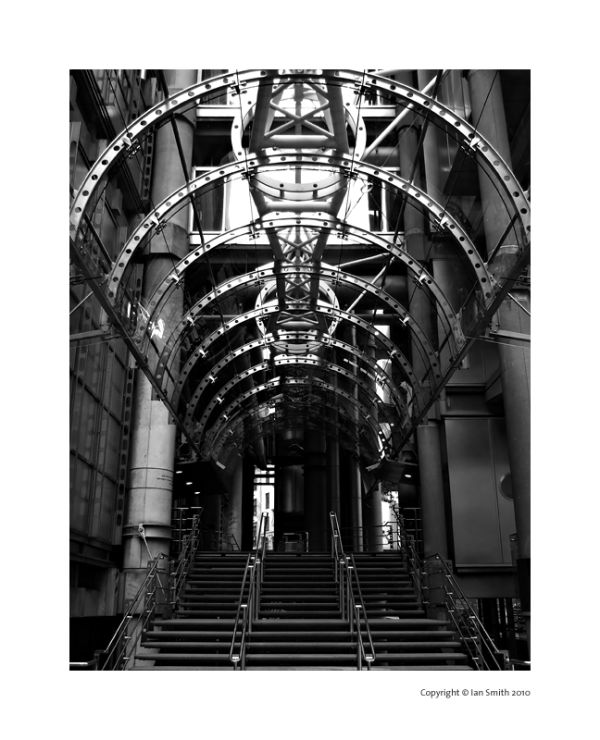 Lloyds Building Entrance, London