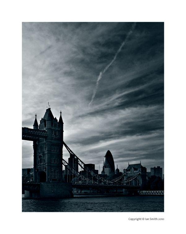 Sunset Tower Bridge