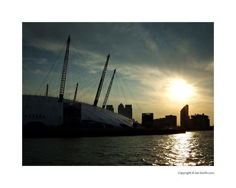 London O2 Sunset