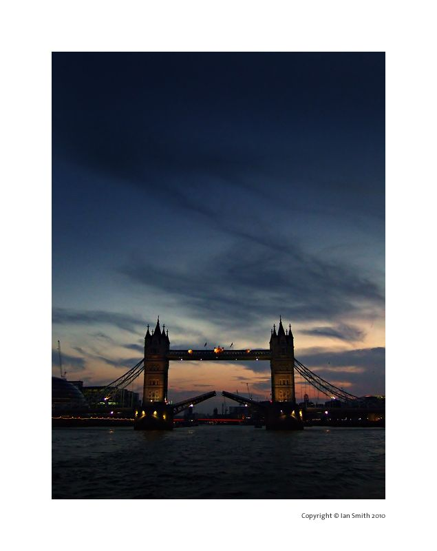 Tower Bridge, River Thames, Sunset