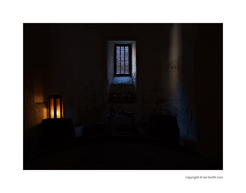 Dark Cell, Hampton Court Palace