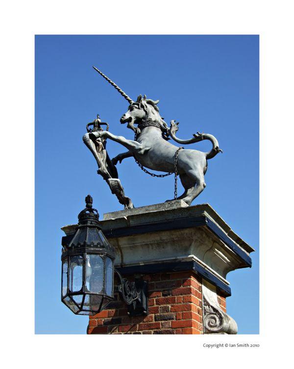 Unicorn Statue, Hampton Court Palace