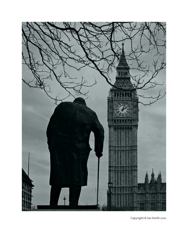 Winston Churchill Statue, Big Ben