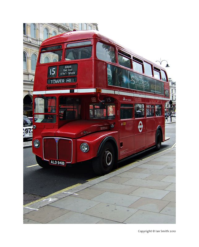 London Routemaster Red Bus