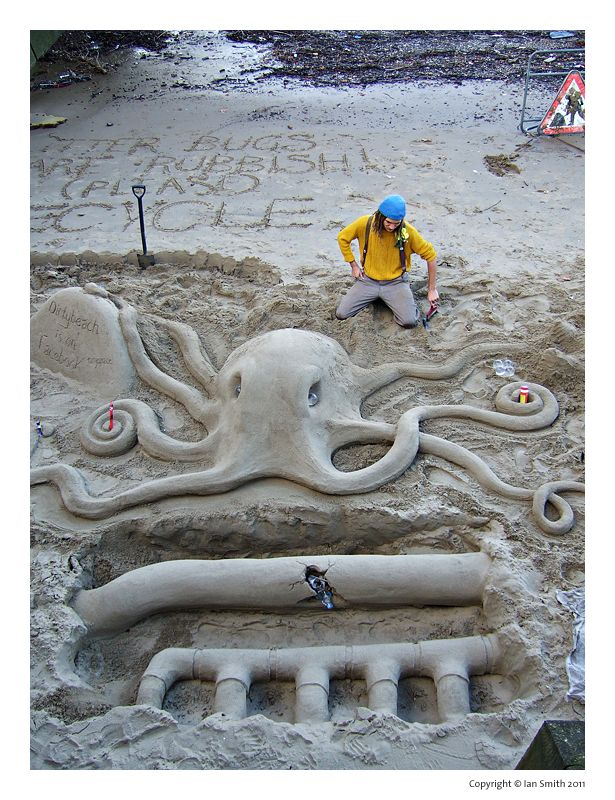 Sand Sculting Thames
