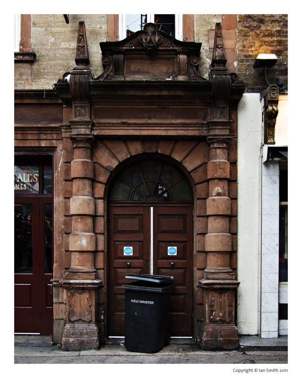 Old doorway, London