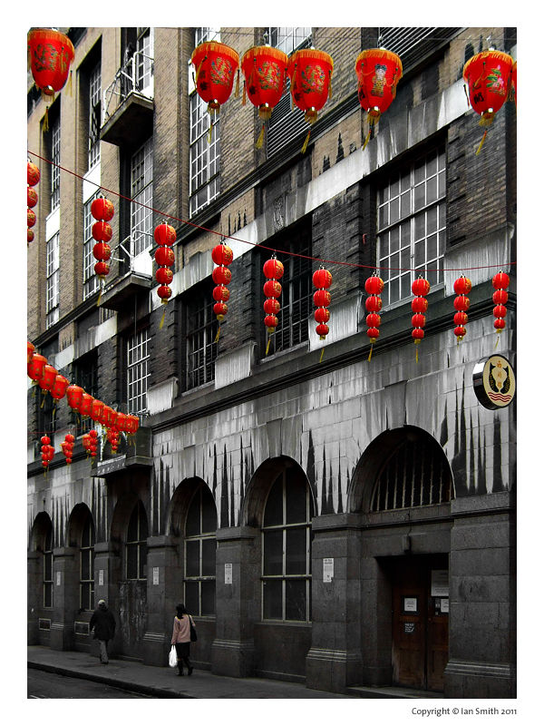 Lisle Street, London Chinatown