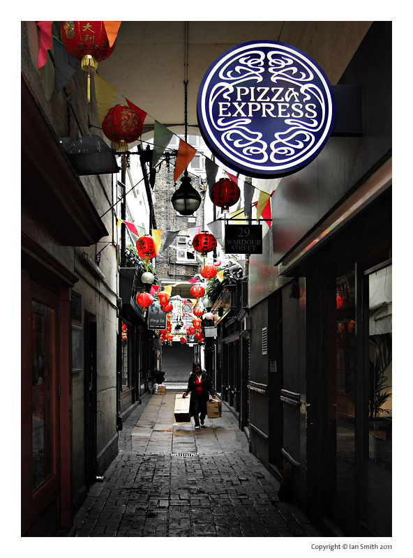 Rupert Court, London Chinatown