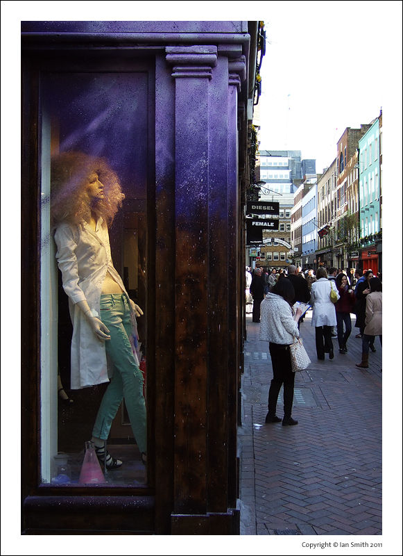 Carnaby Street Window Fashion