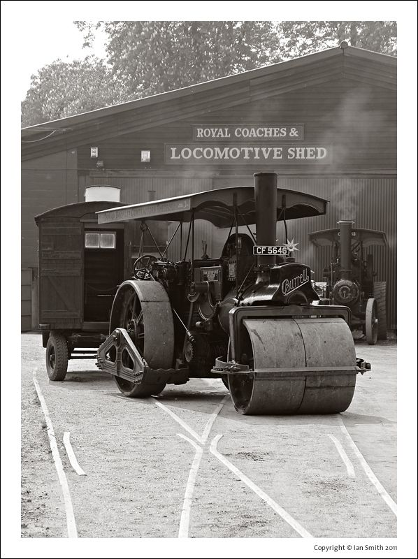 Steam Roller at Bressingham