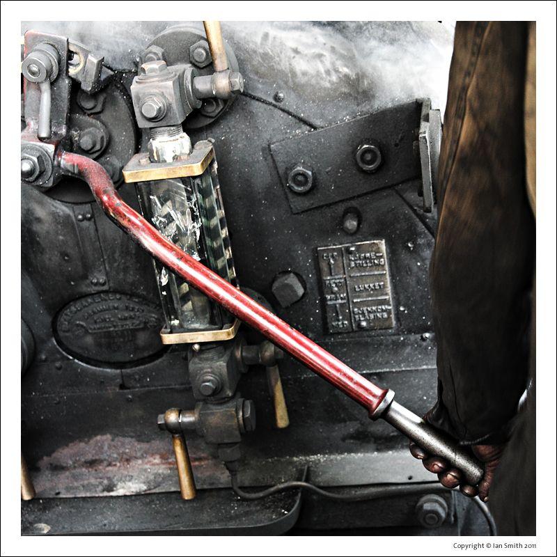 Hotplate of Steam Train