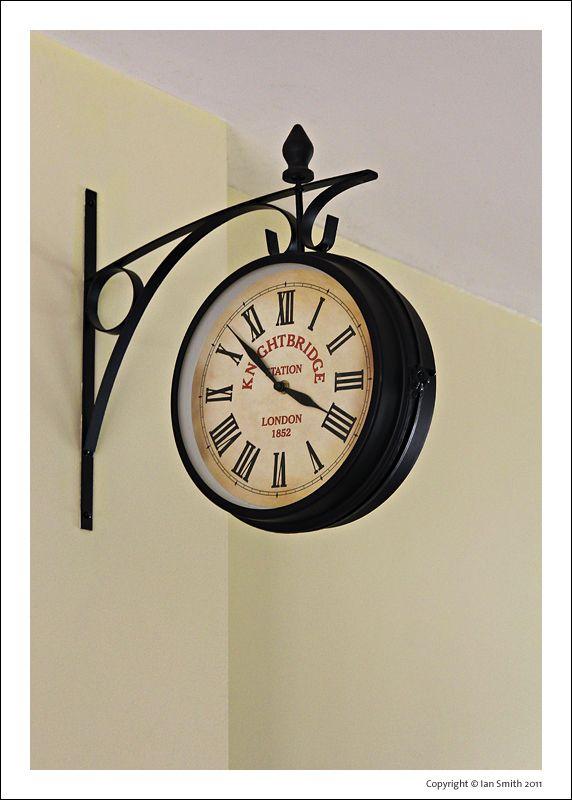 Knightsbridge Station Clock at Bressingham