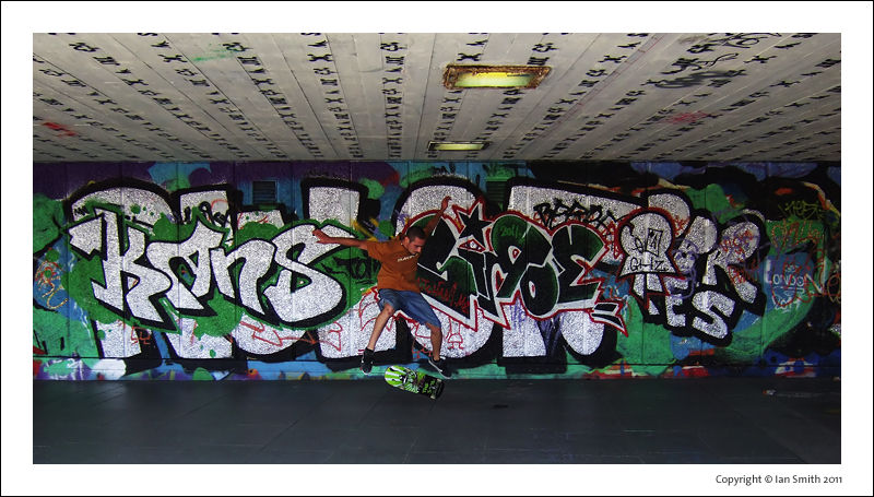 Southbank Skatepark Undercroft London