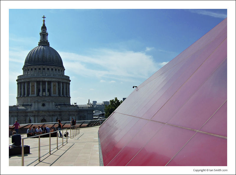 View of St Paul's Cathedral from One New Change