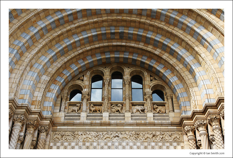 Front Entrance Detail Natural History Museum