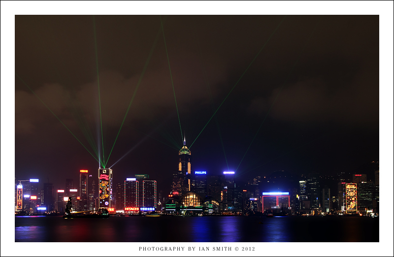 Symphony of Light show in Hong Kong