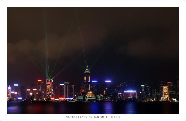 Symphony of Light show in Hong Kong