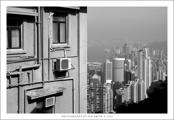 House with a good view of Hong Kong