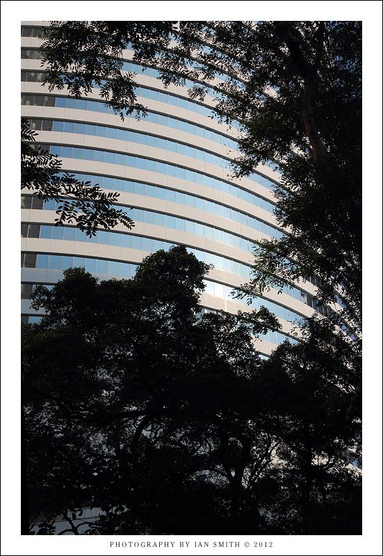 Hong Kong Park and Building