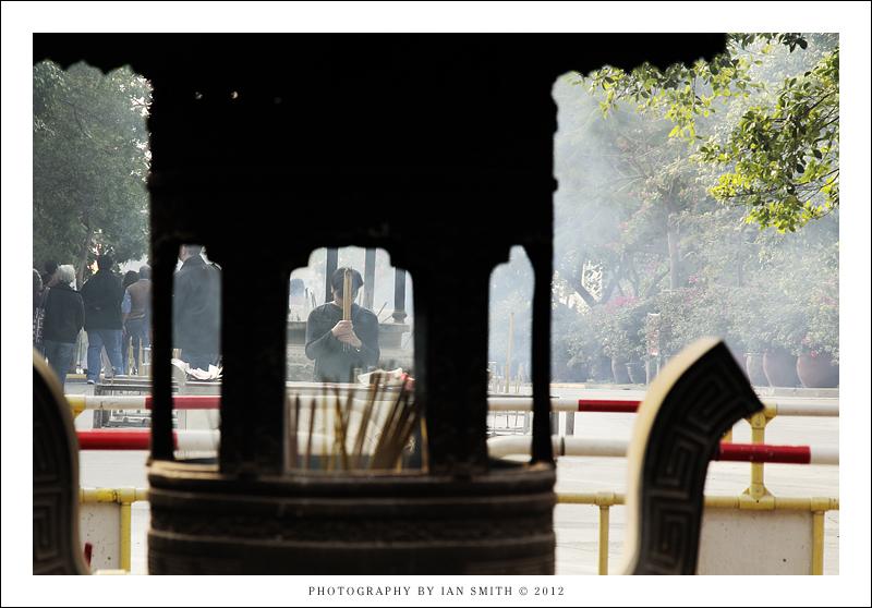 Incense Burner at Po Lin Monastery