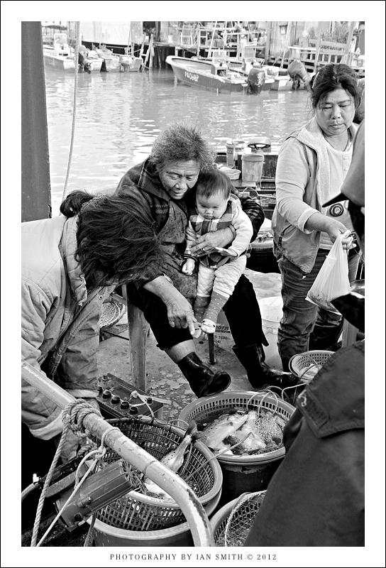 Family of fishmongers