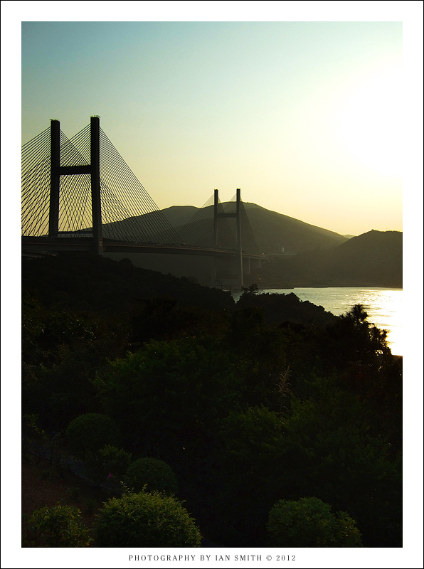 Sunset view from Ma Wan
