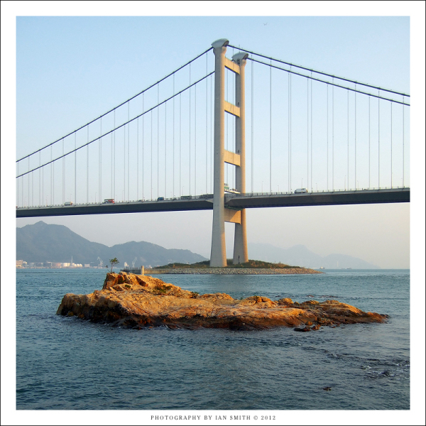 Tsing Ma Bridge, Ma Wan