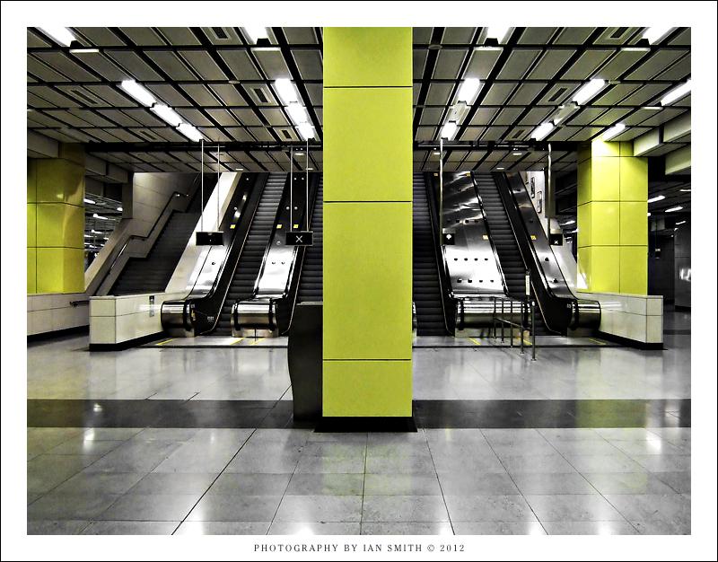 Train Station on Hong Kong MTR