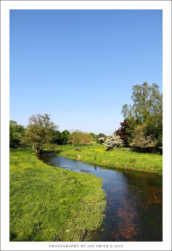 River Darent in Eynsford, Kent