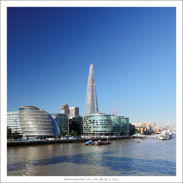 London City Hall from Tower Bridge