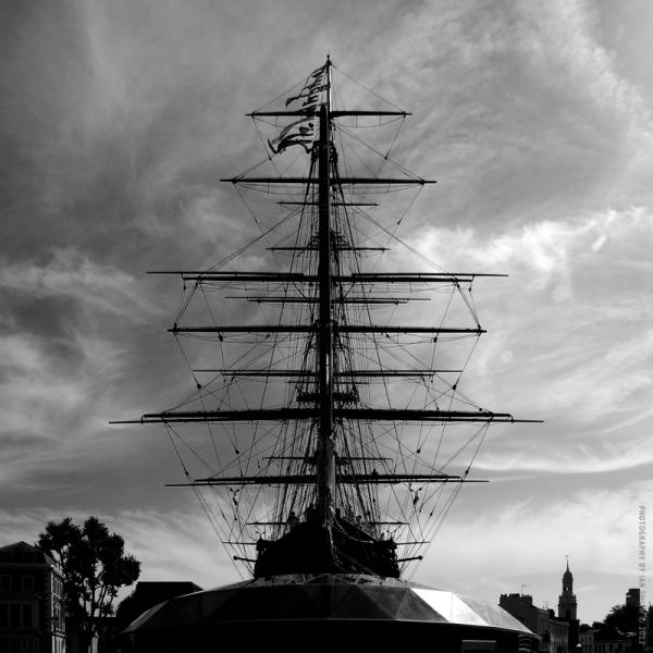 The Cutty Sark in Greenwich