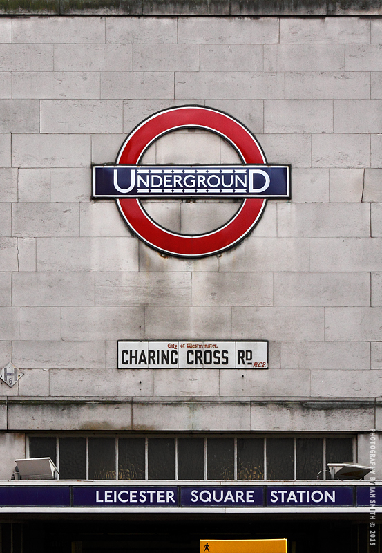 Leicester Square Underground Station London