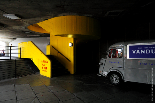 Beneath London's Southbank Centre