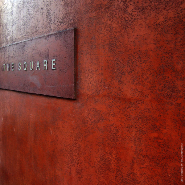 Signage of The Square Restaurant London