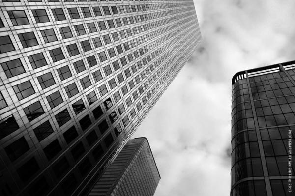 Tall buildings, Canary Wharf, London